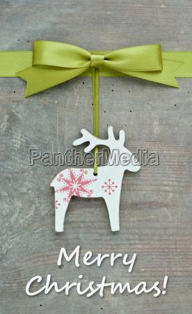 reindeer christmas merry christmas christmas card