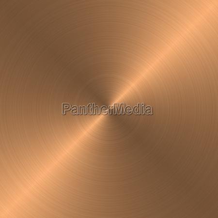 kupfer gebuerstet radialverlauf