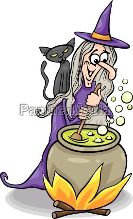 fantasie illustration halloween cartoon veranschaulichung zeichentrickfilm