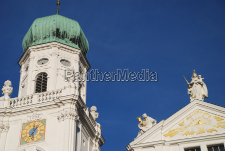 north tower passau cathedral st stephan