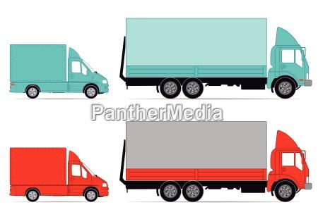 lastwagen und transporter