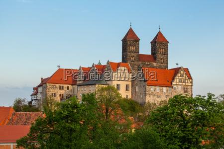 world heritage town of quedlinburg schlossberg