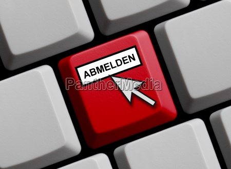 online abmelden
