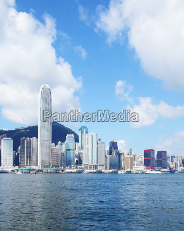 bankenviertel in hong kong