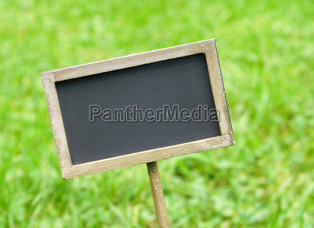 chalkboard without text