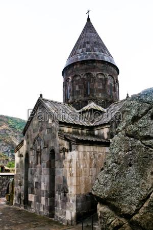 mittelalterlichen kloster geghard in armenien
