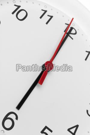 clock morning time