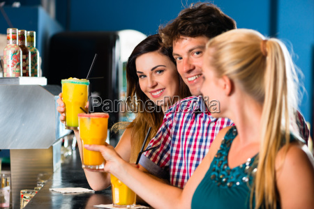 people in a club or bar