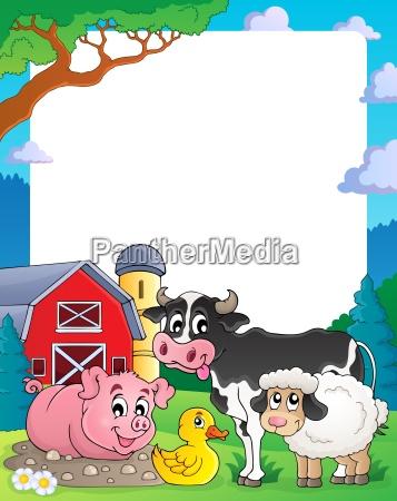 farm theme frame 2