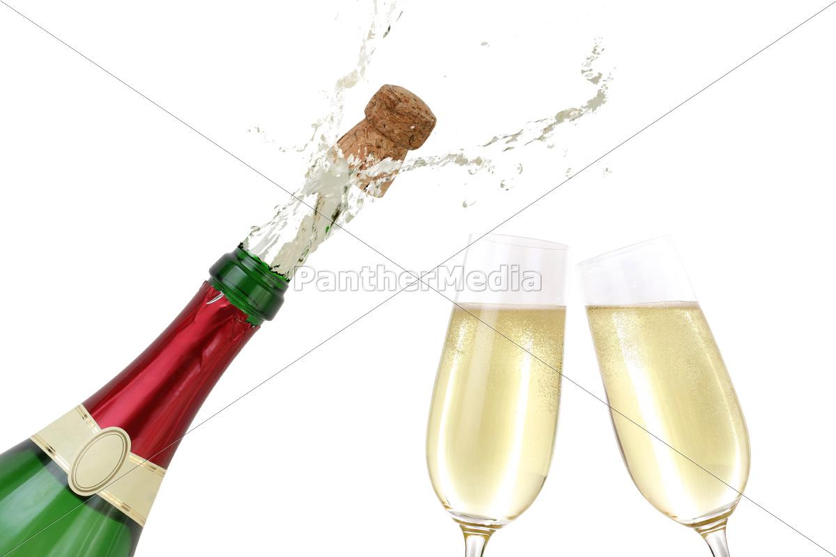 fest trinken feier getränk party feiern geburtstag - Stockfoto ...
