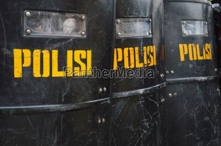 polizei schild