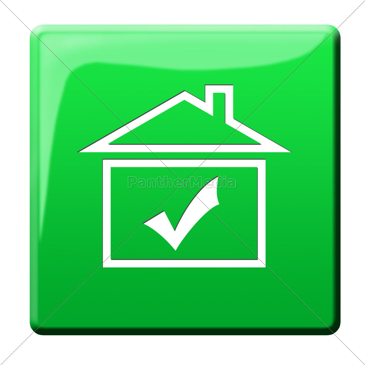 haus symbol icon lizenzfreies bild 10119427. Black Bedroom Furniture Sets. Home Design Ideas
