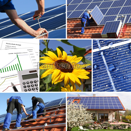 collage solar offer and installation