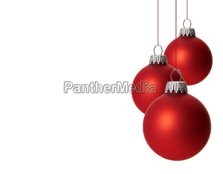 weihnachten weihnachtskugeln rot