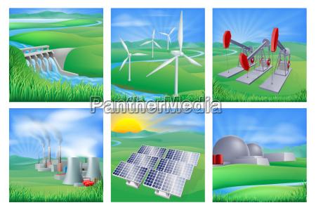 leistungs und energiequellen