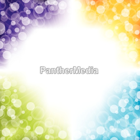 colorful abstract background design with four