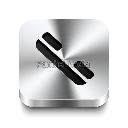 platz metallknopf perspektive telefonhoerer symbol