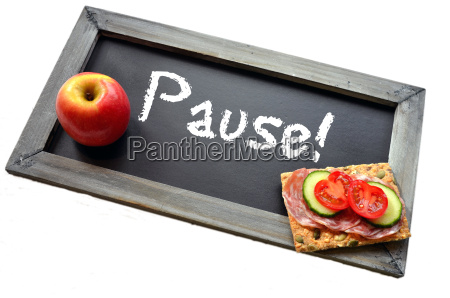 pause blackboard school breakfast