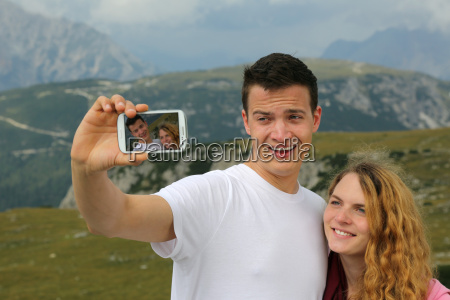 foto mit dem smartphone als erinnerung