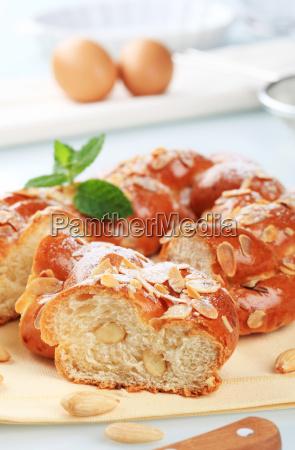 sweet, braided, bread - 10266289