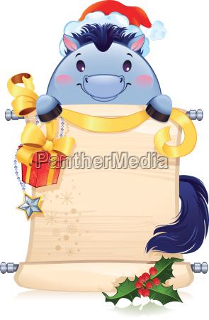 das blue horse ist ein symbol