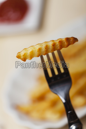 closeup von pommes frites