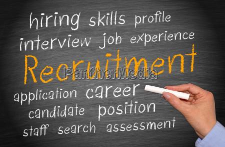 bewerbung vorstellungsgespraech interview rekrutierung anmeldung verwendung