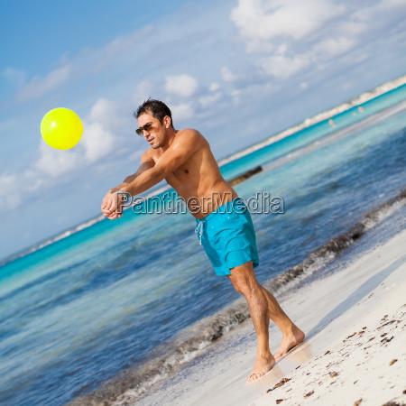 ball beach seaside the beach seashore