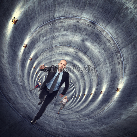 ausserhalb des tunnels