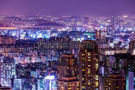 turm stadt modern moderne asien nacht