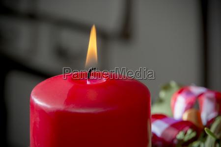 freisteller kerze advent vorweihnachtszeit abgeschieden dekoration