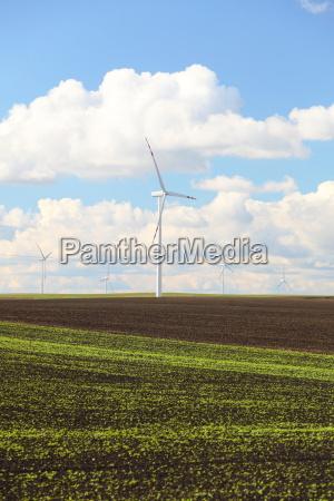 wind turbines eco renewable energy production