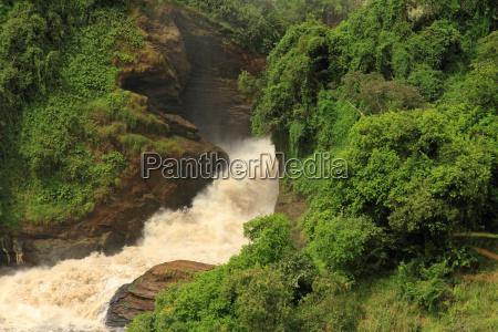 murchison falls from below