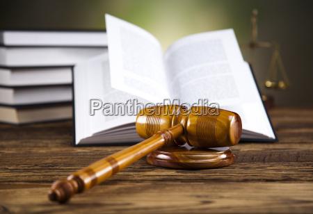 legal, hammer, auf, ein, gesetz, buch - 10329217