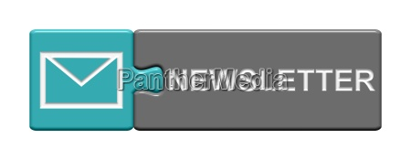 puzzle button newsletter grau blau
