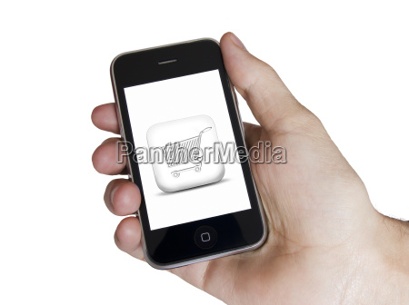 modern touch white screen phone e