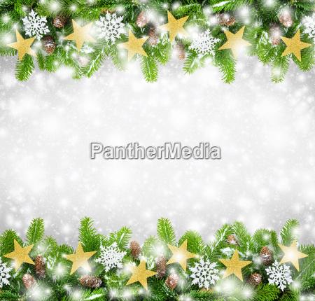 weihnachtlicher frame background