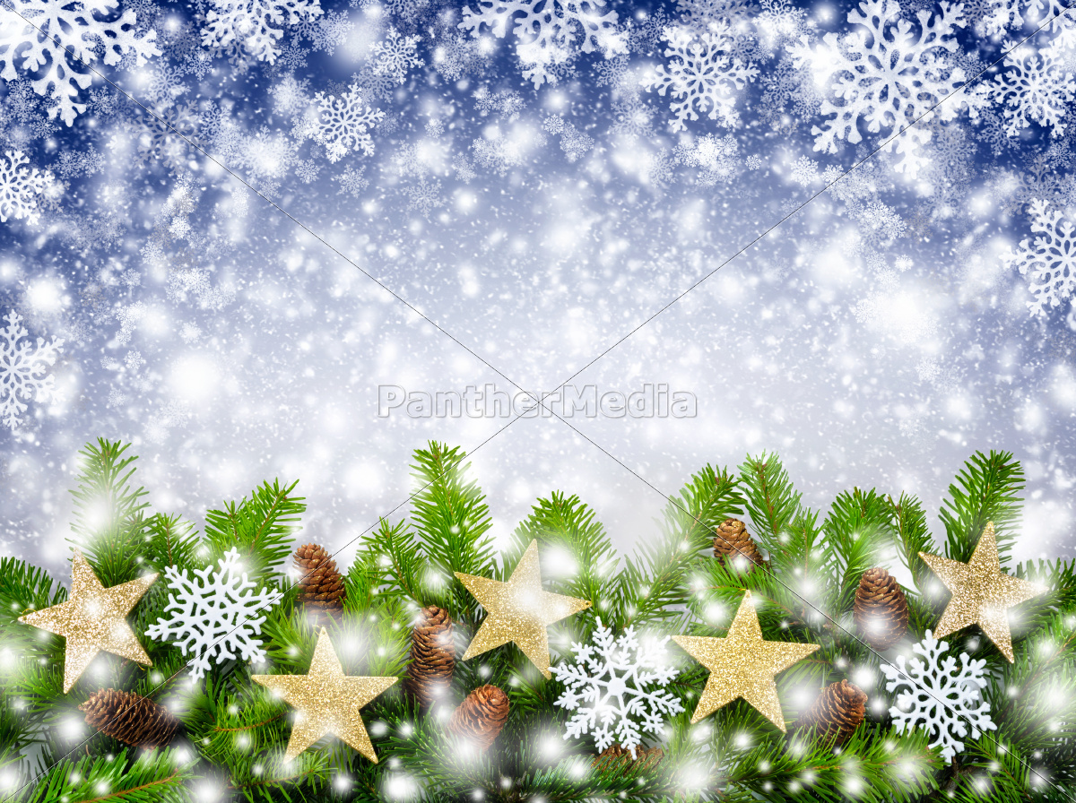 Weihnachtlicher schneeflocken hintergrund lizenzfreies for Weihnachtlicher hintergrund