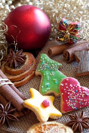 suesses weihnachtsgebaeck