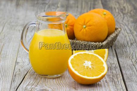 orangensaft, und, frisches, obst - 10487865