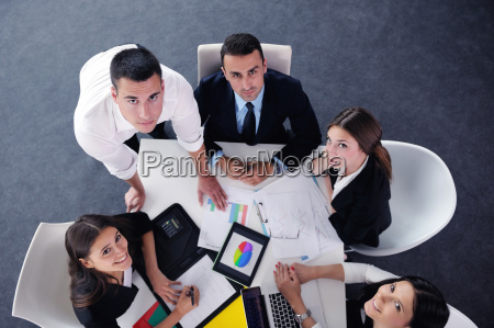 business people group in a meeting