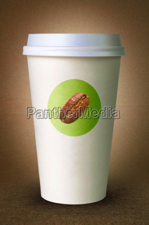 paper cups for coffee with logo