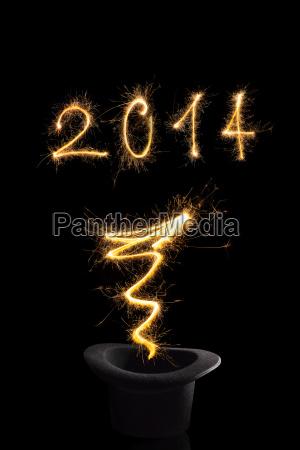 magisches neues jahr 2014