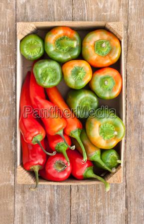 vegetable vegetables bowl bowls pepper