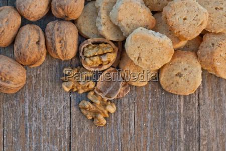 biscuits cookies walnut walnuts nut nuts