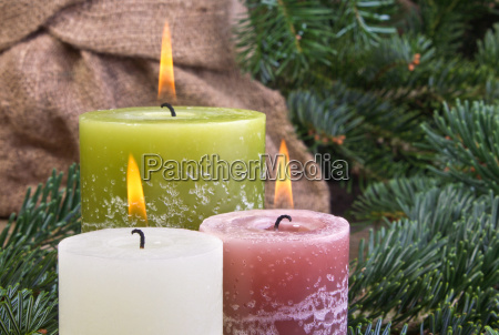 candle candles wood wooden board christmas