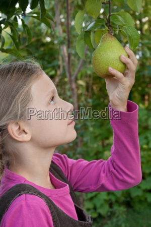 pear girl girls childhood childs long