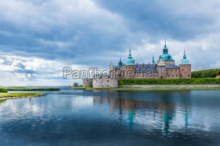 historisches, schloss, kalmar, in, schweden, skandinavien - 10528787