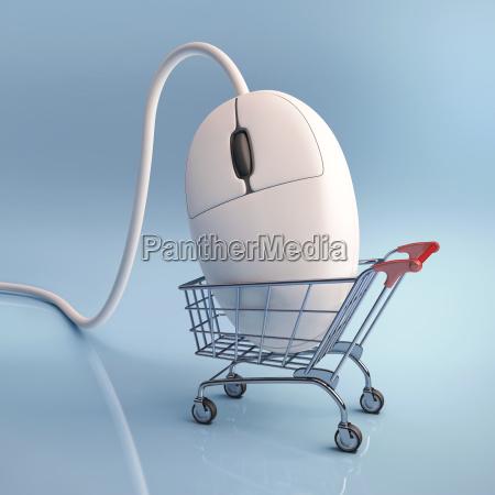 klicken einkaufs
