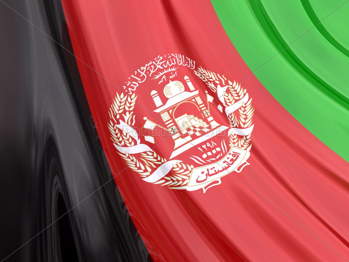 Afghanistan Flagge Lizenzfreies Bild 10538935 Bildagentur